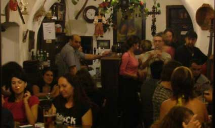 Gypsy Bar In Cesky Krumlov
