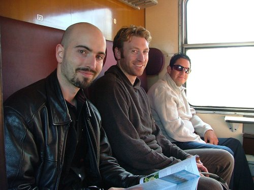 Riding Czech rail