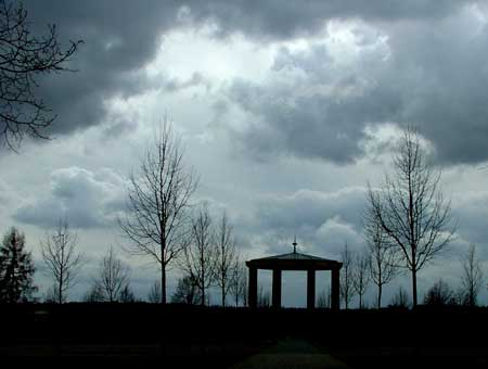 Rotunda of the Lidice memorial