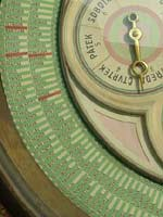 Close up of the lower dial